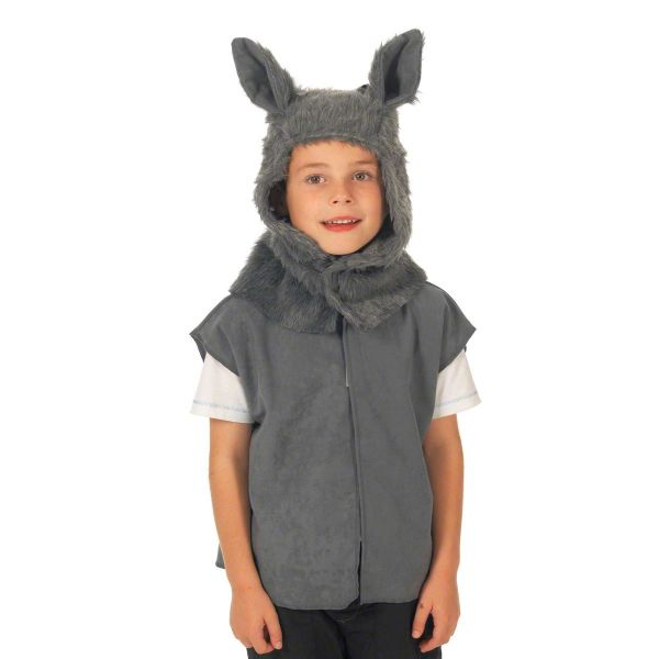 Children's Boys and Girls Wolf Tabard Costume